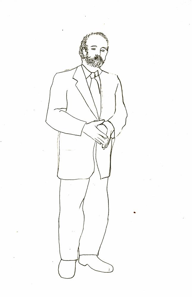 I Am Your Master 1, tekening, December 2007