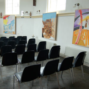 I am Your Lover, Oil on canvas, Tentoonstellingsoverzicht Stompe Toren, Spaarnwoude, 2008