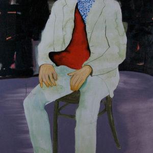 Die Macher 1, olieverf op doek, 90 x 160 cm, 2009/2010