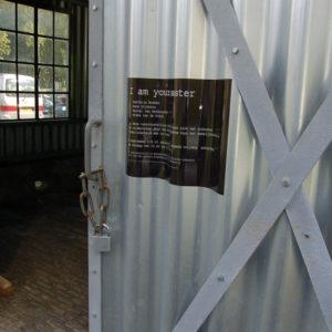I am your master, entree expositie, Kunstfort bij Vijfhuizen 2010
