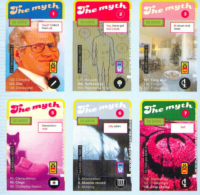 The Myth, Affiche, schilderijen en installatie2, 000, Ruimte01, Lelystad
