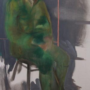 Die Macher 3, Olieverf op doek, 90 x 160 cm, 2009/2010