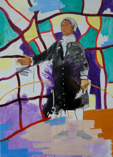I Am Your Master 3, Olieverf op doek, December 2007