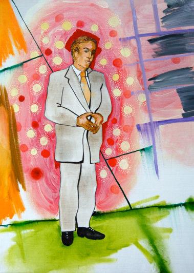 I Am Your Master 2, Olieverf op doek, December 2007