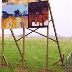 Playtime, installatie/detail, Kunstmanifestatie langs de Dommel, Sint Michielsgestel 2001