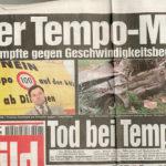 Der Tempo Mann, Bild Zeitung, augustus 1998