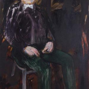 Die Macher 6, Olieverf op doek, 90 x 160 cm, 2009/2010