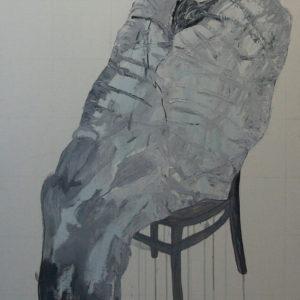 Die Macher 8, Olieverf op doek, 90 x 160 cm, 2009/2010
