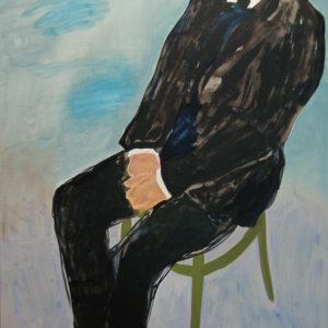 Die Macher 2, Olieverf op doek, 90 x 160 cm, 2009/2010