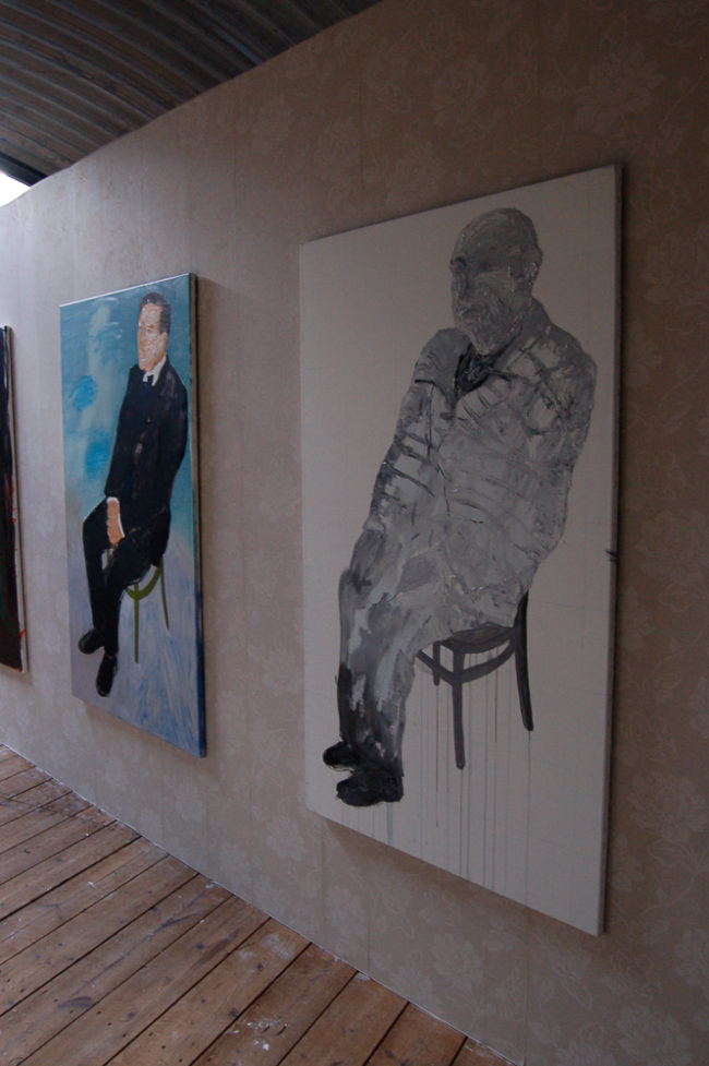Die macher, Installatie in tentoonstelling I Am Your Master Kunstfort bij Vijfhuizen 2010
