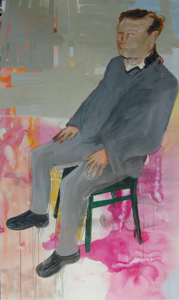 DIe Macher 7, olieverf op doek, 90 x 160 cm, 2009/2010