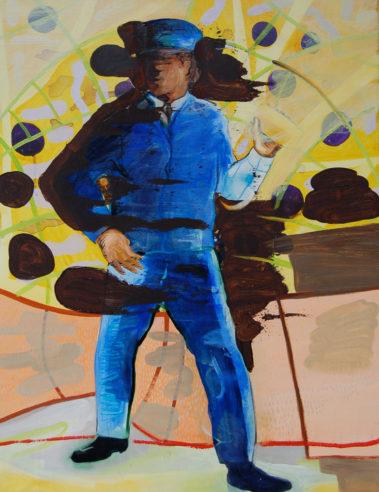 I Am Your Master 4, Olieverf op doek, December 2007