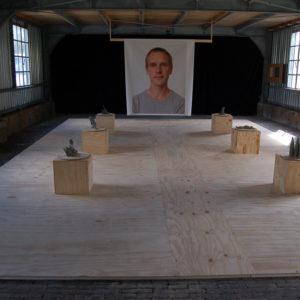 Geen titel, Anno Dijkstra in tentoonstelling I Am Your Master Kunstfort bij Vijfhuizen 2010