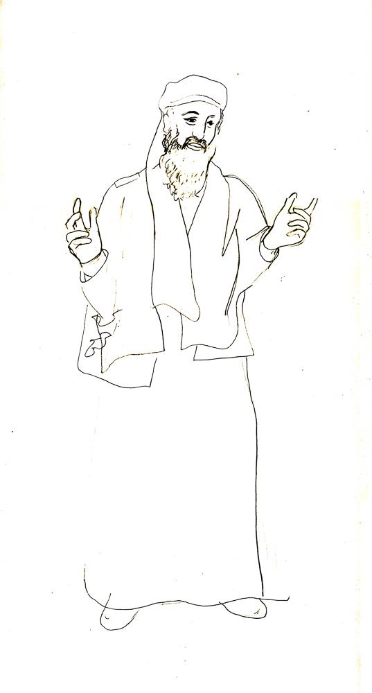 Osama bin Laden, Tekening, 2004