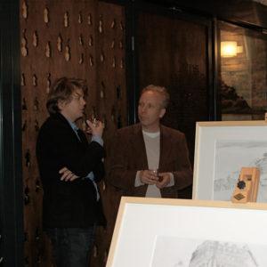 Een genoegelijk gemis, Lezing Coen Simon naar aanleiding van tentoonstelling Tracing Places, Janskerk, Haarlem, 2008