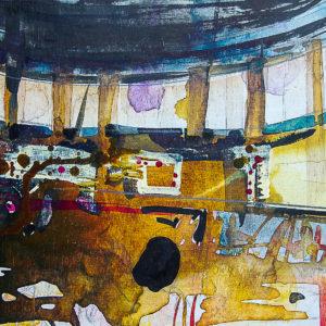Syncope, documentaire installatie van 50 schilderijen, Fort bij Asperen, 2018