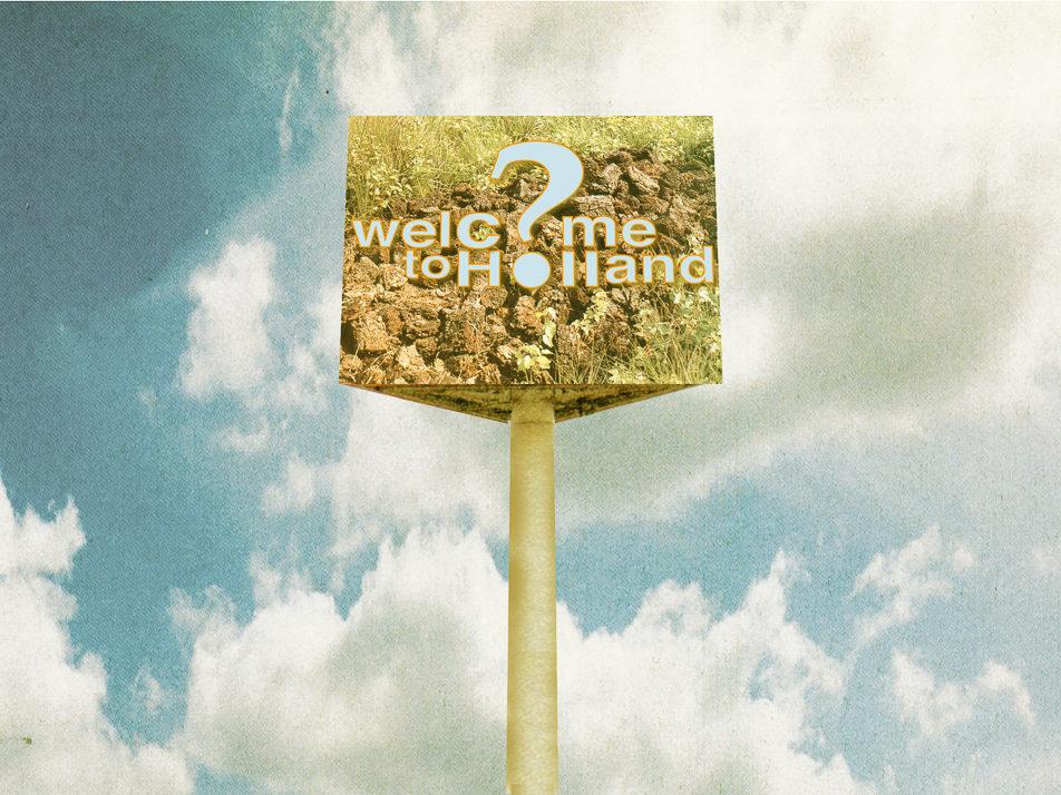 Welcome to Holland, schetsvoorstel ontwerpwedstrijd, artist impression, niet uitgevoerd, 2003